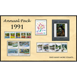 canada complete year set 1991 mint
