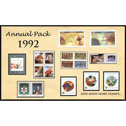 Canada complete year set 1992 mint