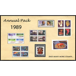Canada complete year set 1989 mint