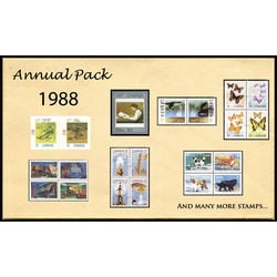 canada complete year set 1988 mint