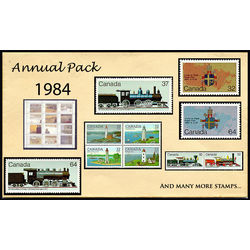 Canada complete year set 1984 mint
