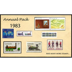 Canada complete year set 1983 mint