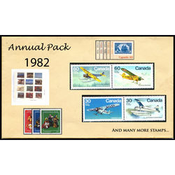 canada complete year set 1982 mint