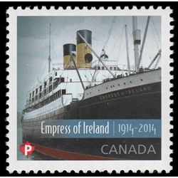 canada stamp 2745 rms empress of ireland 2014