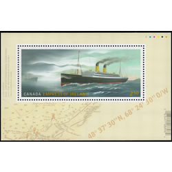 canada stamp 2746 rms empress of ireland and ss sorstad 2 50 2014
