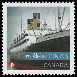 canada stamp 2747i rms empress of ireland 2014