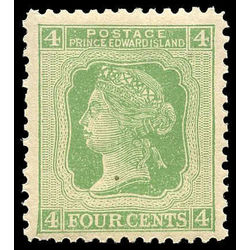 prince edward island stamp 14i queen victoria 4 1872