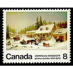 canada stamp 610p the blacksmith s shop 8 1972