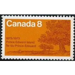 canada stamp 618 oak trees on shore 8 1973