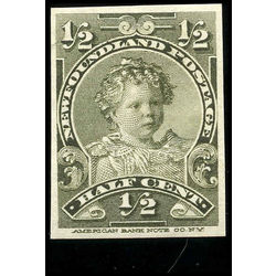 newfoundland stamp nf78a si king edward viii as child 1898