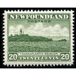 newfoundland stamp nf196b cape race 20 1932