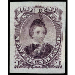 newfoundland stamp 32p edward prince of wales 1 1869
