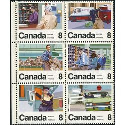 canada stamp 639a letter carrier service 1974