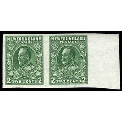 newfoundland stamp 186iii king george v 2 1932