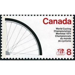 canada stamp 642i bicycle wheel 8 1974