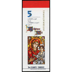 canada stamp complete booklets bk bk204 scene from the life of the blessed virgin by christopher wallis 90 1997