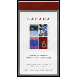canada stamp complete booklets bk bk295 canadian national exhibition toronto on 2004