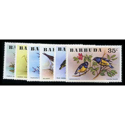barbuda stamp 238 43 birds 1976