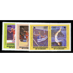 bequia of st vincent stamp 170 3 olympics 1984