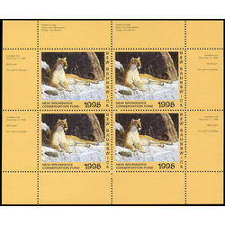 new brunswick conservation fund stamp nbw2b eastern cougar by tom mansanarez 1995