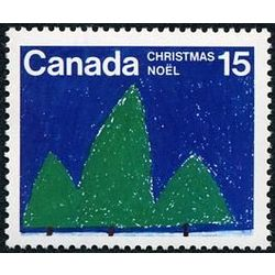 canada stamp 679 christmas trees 15 1975
