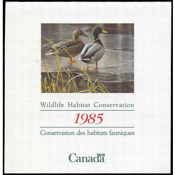 canadian wildlife habitat conservation stamp fwh1 mallards 4 1985