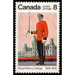 canada stamp 693i wing parade and mackenzie building 8 1976