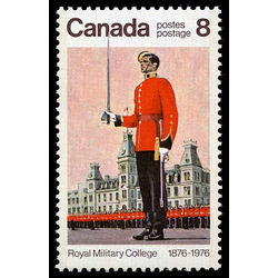 canada stamp 693iv wing parade and mackenzie building 8 1976