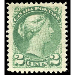 canada stamp 36 queen victoria 2 1872 m xf