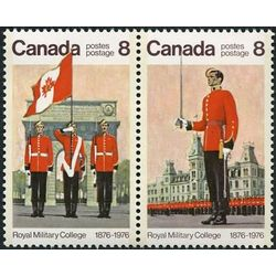 canada stamp 693a royal military college centenary 1976