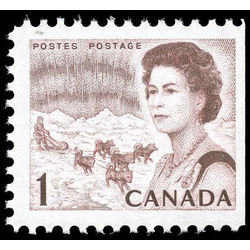 Canada stamp 454aiis queen elizabeth ii northern lights 1 1967