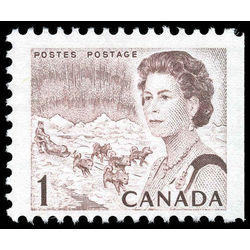 canada stamp 454evi queen elizabeth ii northern lights 1 1971