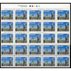 Canada stamp 1163bi houses of parliament 1988