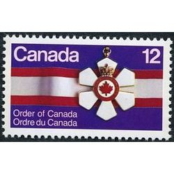 Canada stamp 736 order of canada medal 12 1977