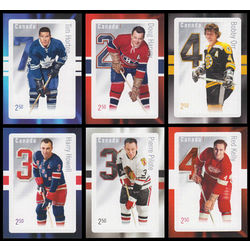 canada stamp 2788 93 original six 2014