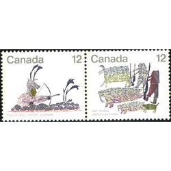 canada stamp 751a inuit hunting 1977