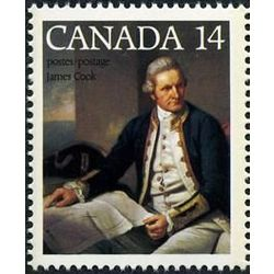 canada stamp 763 captain james cook 14 1978