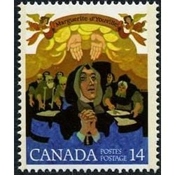 canada stamp 768 marguerite d youville 14 1978
