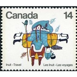 Canada stamp 769 woman walking 14 1978