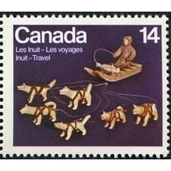 canada stamp 772 dog team and sled 14 1978