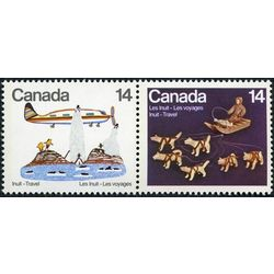 canada stamp 772a inuit travel 1978