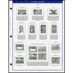 annual supplement for the seal usa stamp album