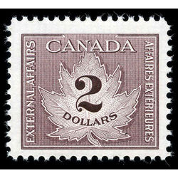 canada revenue stamp fcf4 consular fee 2 1949