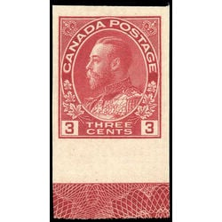 canada stamp 138 king george v 3 1924 lath m vfnh