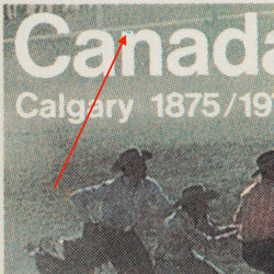 canada stamp 667i calgary stampede 8 1975