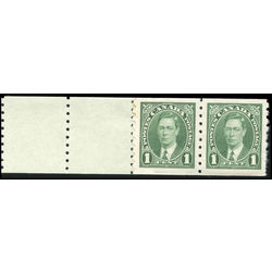 canada stamp 238pa king george vi 1937 m fnh starter pair 2 tabs