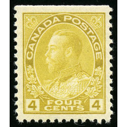 canada stamp 110c king george v 4 1922 m vfnh 001