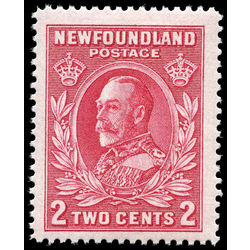 newfoundland stamp 185ii king george v 2 1932