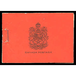 canada stamp complete booklets bk bk16a booklet 1930