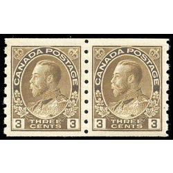 Canada stamp 129ii pa king george v 3 1918